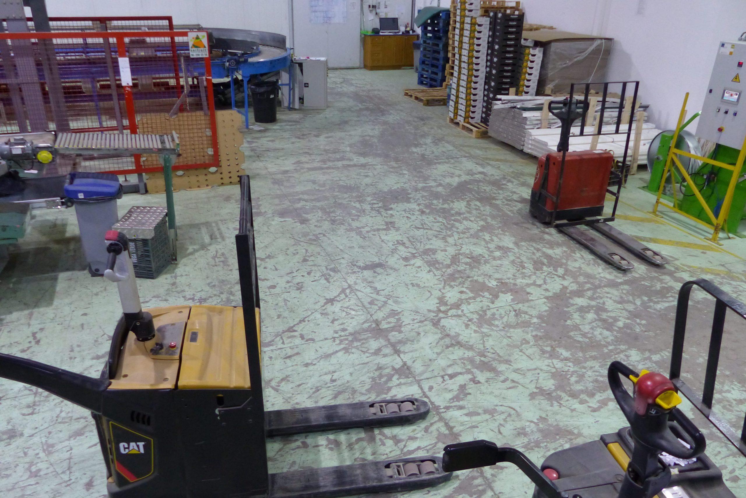 Epoxy Damaged Floor