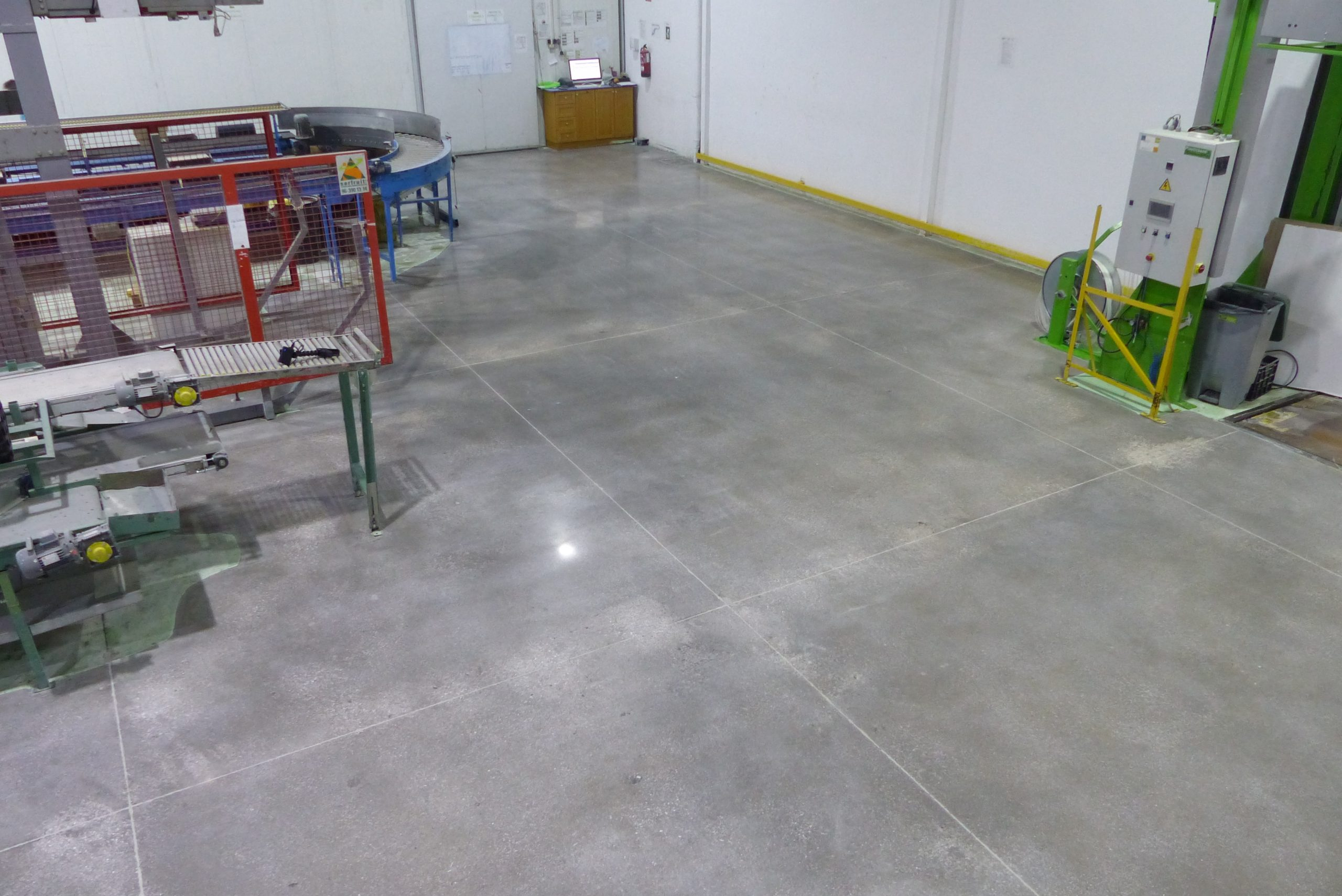 Grinding Concrete Floor Dry