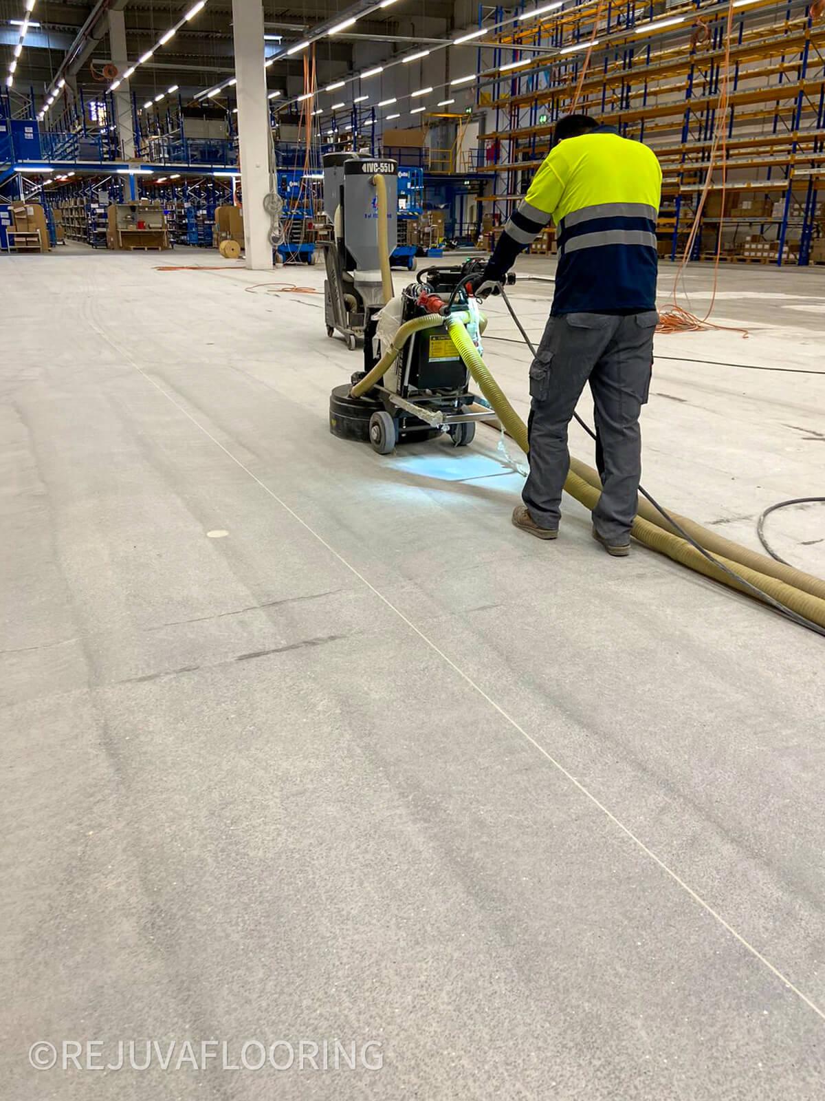Grinding Concrete Floor