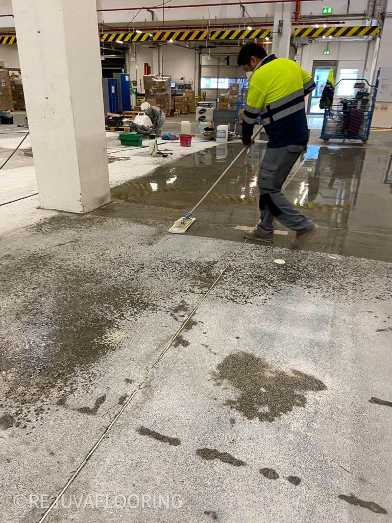 Sealing Concrete Floor