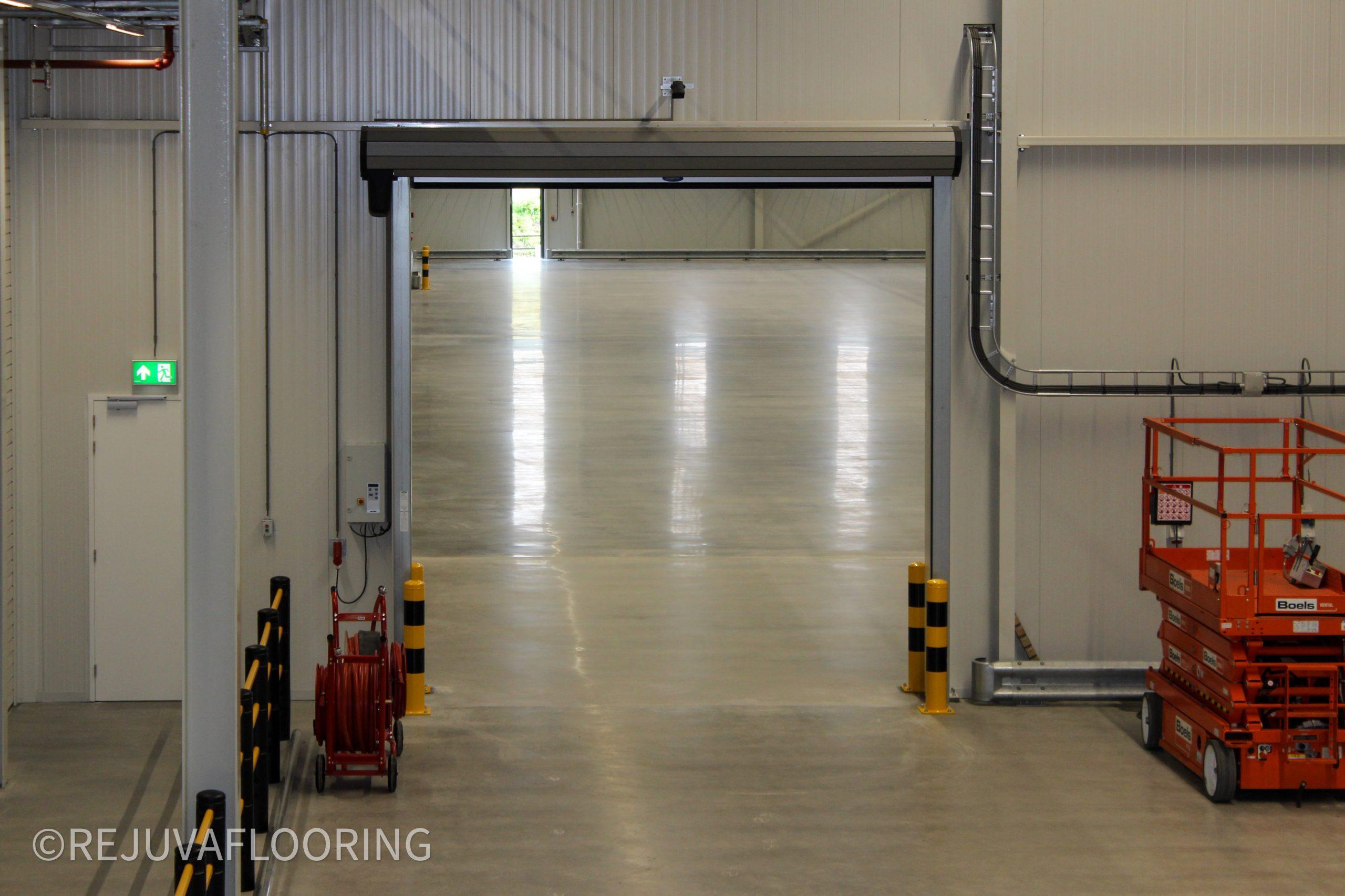 Warehouse New Floor